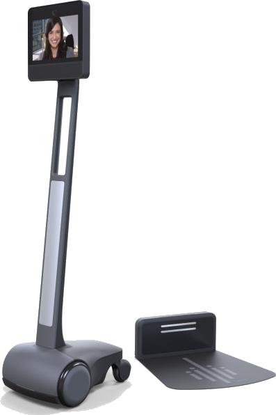 robot de téléprésence mobile pour particuliers - beam+