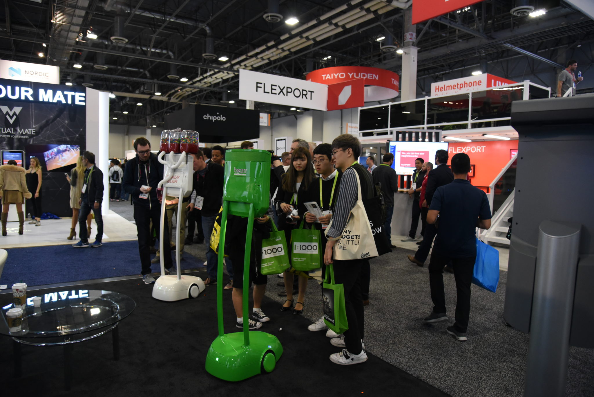 robot salon