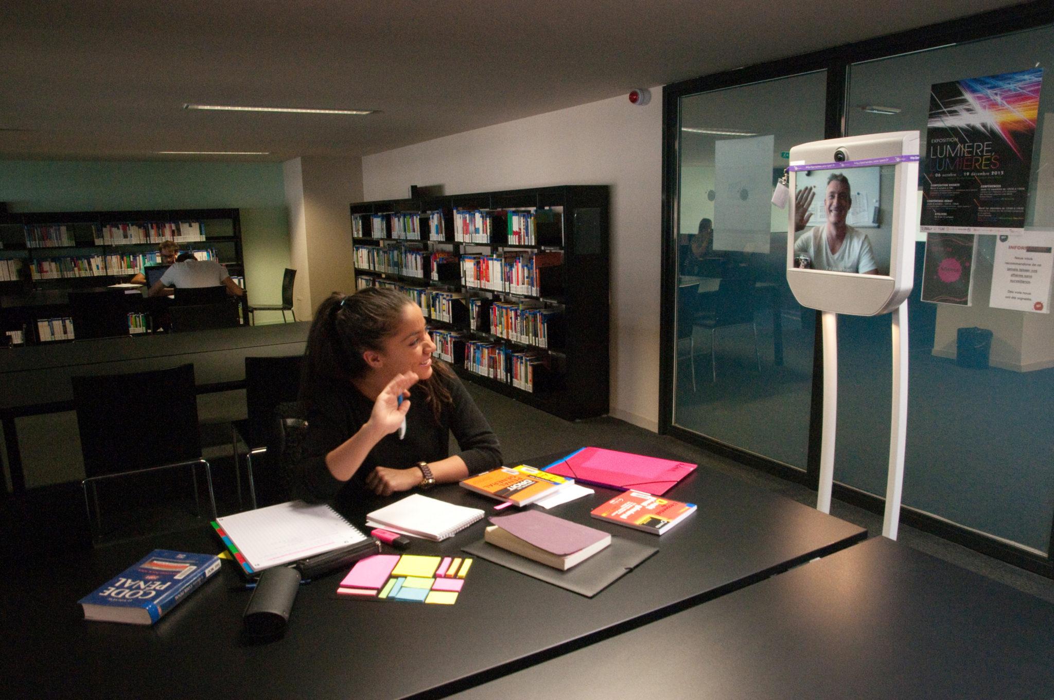 Enseignement à distance : la téléprésence mobile au service de l'innovation pédagogique