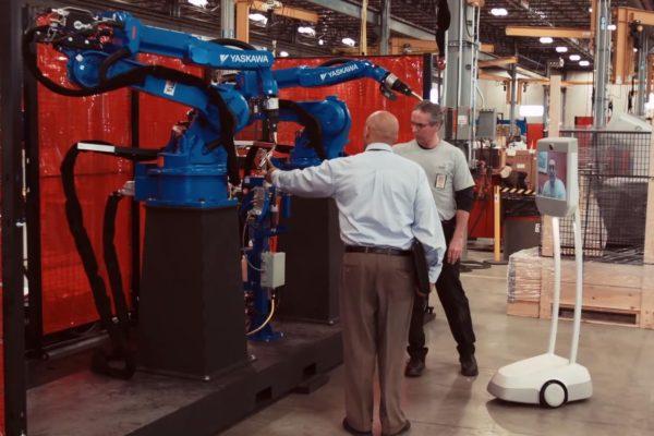 BeamPro : visite de site industriel à distance