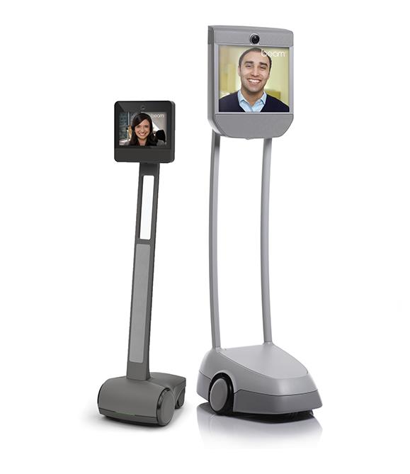 Offres robot de téléprésence mobile Beam+max et BeamPro