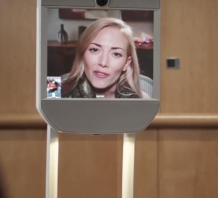 management de proximité via le robot de téléprésence
